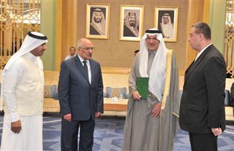 سفير السعودية يسلم مصر وفلسطين حصتيهما من لحوم الهدي والأضاحي لموسم الحج | صور