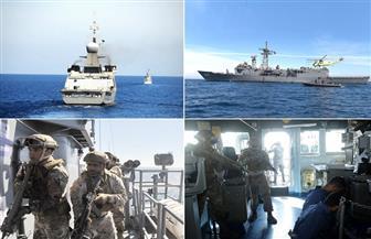 """ختام فعاليات التدريب البحرى المصرى السعودى المشترك """"مرجان – 16"""""""
