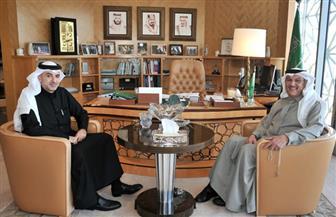 سفير مملكة البحرين يلتقي نظيره السعودي بجمهورية مصر العربية