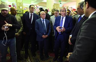 مصيلحى والغضبان يتفقدان فرع الشركة العامة لتجارة الجملة ببورسعيد | صور