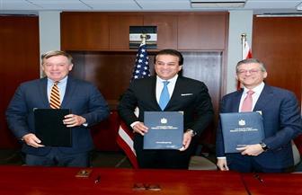 ننشر تفاصيل زيارة وزير التعليم العالي للولايات المتحدة والاتفاقيات التي تم توقيعها| صور