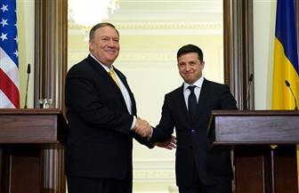 وزير خارجية أمريكا يلتقي الرئيس الأوكراني في كييف
