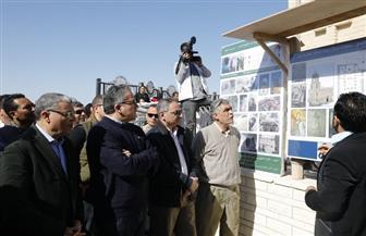 العناني ومحافظ المنيا يتفقدان القباب الأثرية لأضرحة آل البيت في البهنسا | صور