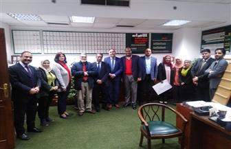 وزير الثقافة الليبى يشيد بدور مركز الأهرام للمعلومات فى خدمة الصحافة العربية | صور