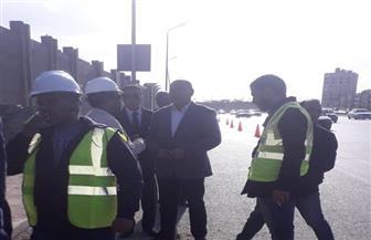 نائب محافظ القاهرة يتابع بدء الحفر لمشروع التحول الرقمي | صور