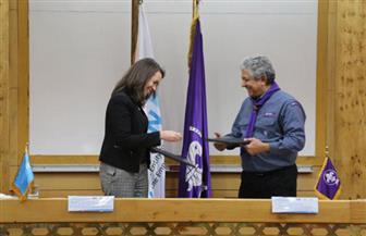 القاهرة تشهد توقيع  مذكرة تفاهم بين الإقليم الكشفي العربى وهيئة الأمم المتحدة للمرأة | صور