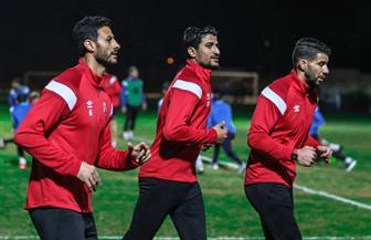 مران قوي لحراس مرمى النادي الأهلي قبل القمة