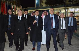«صبحي» يصطحب وزراء الشباب والرياضة العرب فى جولة تفقدية بالمركز الأوليمبي| صور