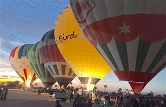 35 رحلة بالون بالأقصر تحمل أكثر من 700 سائح