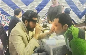 الكشف على 500 مواطن بقافلة لأمراض العيون في المحلة الكبرى |صور
