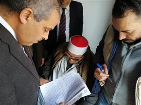 رئيس جامعة الأزهر يتفقد لجان امتحانات كليات قطاع الدراسة | صور