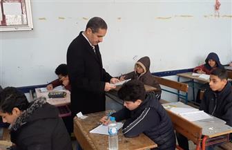 محافظ الغربية يتفقد امتحانات المرحلتين الابتدائية والإعدادية في طنطا |صور