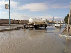 """تركيب طلمبات خاصة لسحب المياه الجوفية من منطقة """"أبو مينا"""" الأثرية بالإسكندرية"""