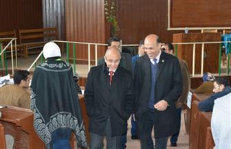 رئيس جامعة الزقازيق يتفقد لجان الامتحانات |صور