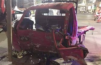 مصرع مواطن وإصابة آخر في حادث تصادم ببورسعيد | صور