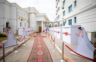 """""""تحيا مصر"""" يسلم 50 فتاة تجهيزات الزواج ضمن مبادرة """"دكان الفرحة"""" في المنيا   صور"""