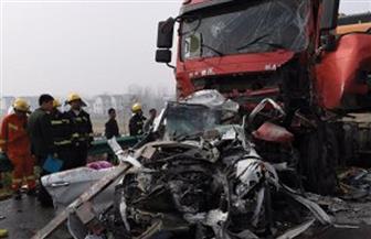 مصرع مواطن وإصابة 4 في حادث تصادم بالبحيرة