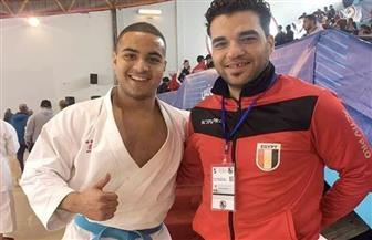 أحمد أشرف يحقق أول ميدالية مصرية في بطولة شمال إفريقيا للكاراتيه