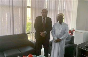 سفير مصر في دار السلام يبحث مع مفتي تنزانيا دعم التعاون في المجال الديني بين البلدين