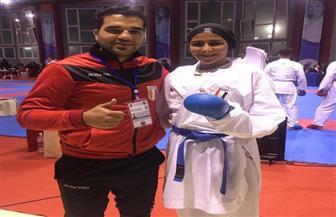 نورهان حسن تفوز ببرونزية شمال إفريقيا للكاراتيه