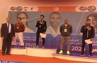 صلاح يفوز بذهبية ثالثة لمصر في بطولة شمال إفريقيا للكاراتيه