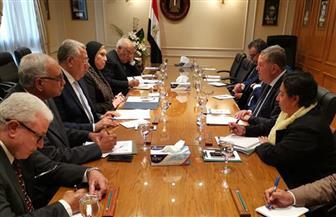 وزراء قطاع الأعمال والصناعة والزراعة يبحثون استكمال تنفيذ استراتيجية النهوض بالقطن المصري