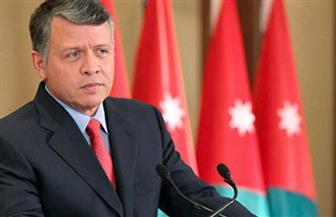 ملك الأردن يستقبل وزير الخارجية سامح شكري فى بداية زيارته لعمان
