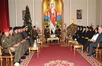 البابا تواضروس لوزير الدفاع: المصريون بجميع طوائفهم يقفون إلى جوار جيشهم على قلب رجل واحد