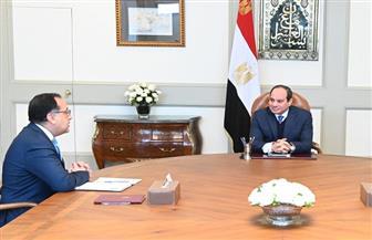 تفاصيل اجتماع الرئيس السيسي مع رئيس الوزراء ووزير الإعلام