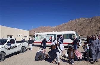 فرق طبية متحركة تجوب وديان جنوب سيناء لفتح ملفات عائلية لطب الأسرة | صور