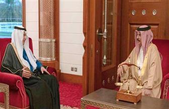 ملك البحرين يستقبل الأمين العام لمنظمة التعاون الإسلامي