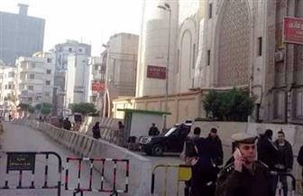 """انتشار أمني مكثف لـ""""أمن القاهرة"""" في محيط الكنائس"""