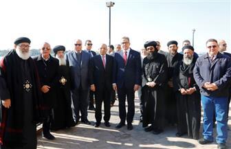 وزيرا السياحة والآثار والتنمية المحلية ومحافظ القاهرة يتفقدون أعمال تطوير المنطقة المحيطة بمجمع الأديان