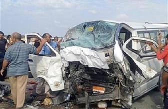 مصرع 3 أشخاص في حادث تصادم أمام جامعة القاهرة | صور