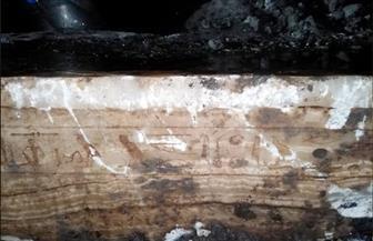 لجنة أثرية بمحافظة الدقهلية تعاين كتلا حجرية عثرعليها أثناء أعمال مشروع صرف صحي | صور