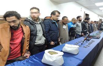 ضبط 16 قضية مخدرات و13 سلاحا ناريا بمدينة نصر | صور