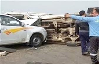 إصابة شخصين في حادث تصادم بمصر الجديدة