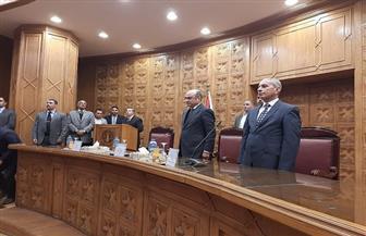 وزير العدل يشهد حلف اليمين القانونية لـ1102 موظف بالشهر العقاري | صور
