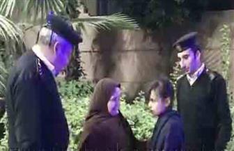 """""""الداخلية"""" تعيد طفلة مفقودة إلى والدتها بالقاهرة"""