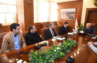 الغضبان: مجمع المواقف الجديد سيكون ميناء بورسعيد البري | صور
