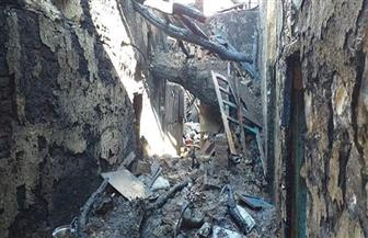 حريق هائل يلتهم محتويات منزل بالكامل جنوب الأقصر والمحافظ يوجه بتقديم المساعدات|صور