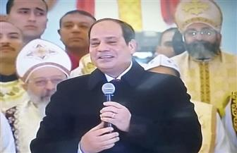 """الرئيس السيسي: """"نتعامل بشرف في زمن ليس فيه شرف"""""""