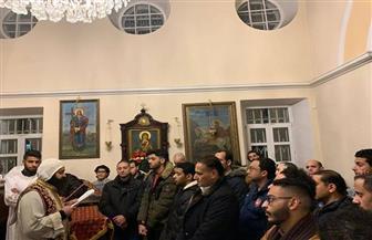 الجالية القبطية المصرية بموسكو تقيم صلوات عيد الميلاد بمشاركة وفد من السفارة | فيديو وصور