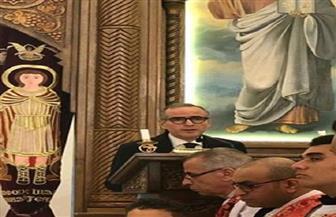 قنصل مصر العام بدبي يشارك في قداس عيد الميلاد المجيد