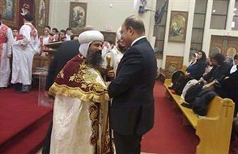 سفير مصر بكندا يشارك في قداس عيد الميلاد في الكنيستين القبطيتين بأوتاوا | صور