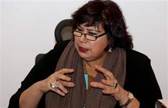 وزيرة الثقافة لوكالة أنباء الشرق الأوسط: نعمل على مواجهة التطرف الفكري بالكتاب والسينما والمسرح | صور