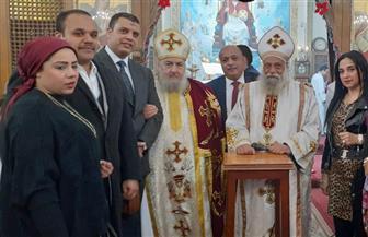 """""""المصريين الأحرار"""" يهنئ رعاة كنائس الظاهر والعباسية بعيد الميلاد"""