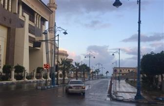 أمطار غزيرة ورياح شديدة تتسبب فى إعاقة حركة المرور وانقطاع الكهرباء بالقليوبية