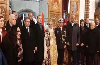 سفير مصر فى برلين يشارك فى قداس عيد الميلاد المجيد بالعاصمة الألمانية