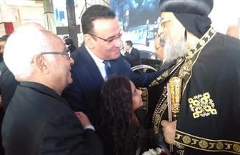 رئيس حزب الحرية المصري يقدم التهاني للبابا تواضروس بمناسبة عيد الميلاد المجيد  صور